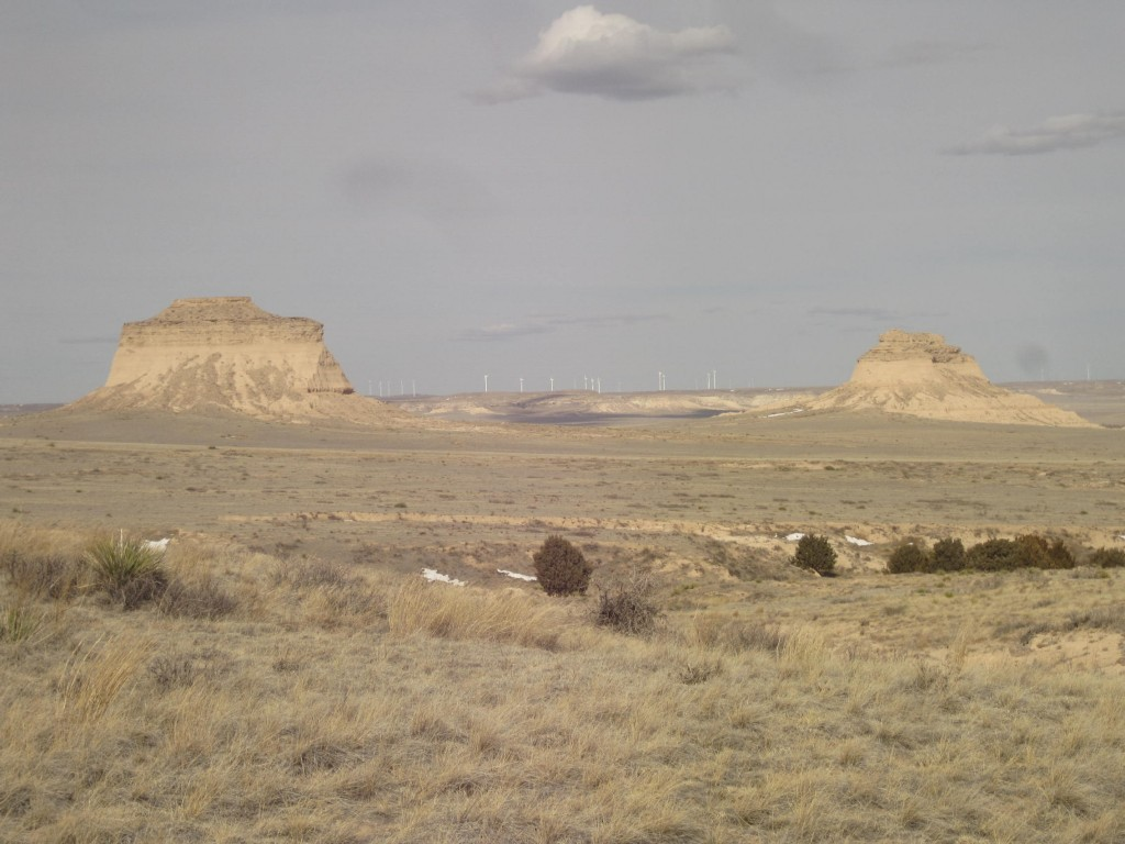 Buttes and Windmills