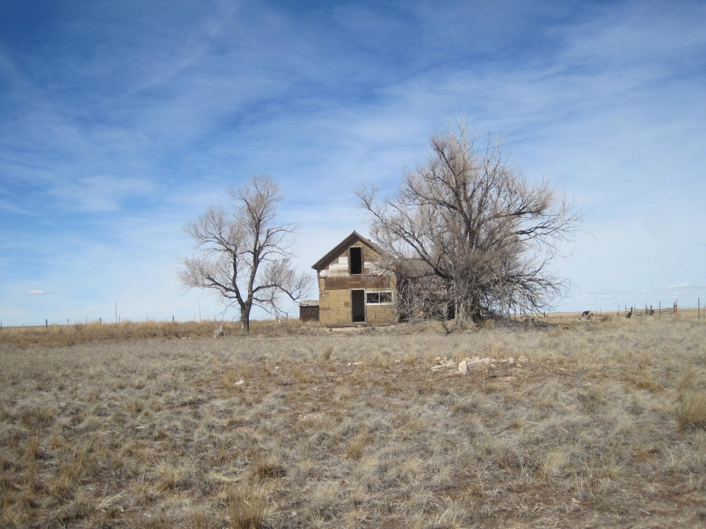 Creepy House on the Prairie