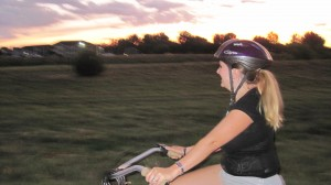 Cassie-Ponytail-on-Bike