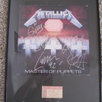 Framed Metallica