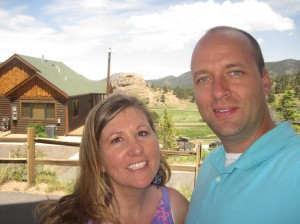 Me and B in Estes Park