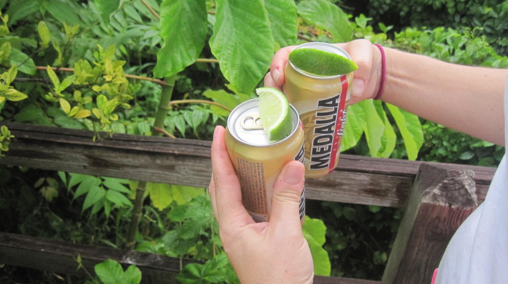 Medalla and Lime