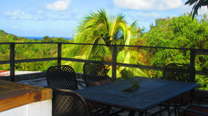 Cabana Table and view