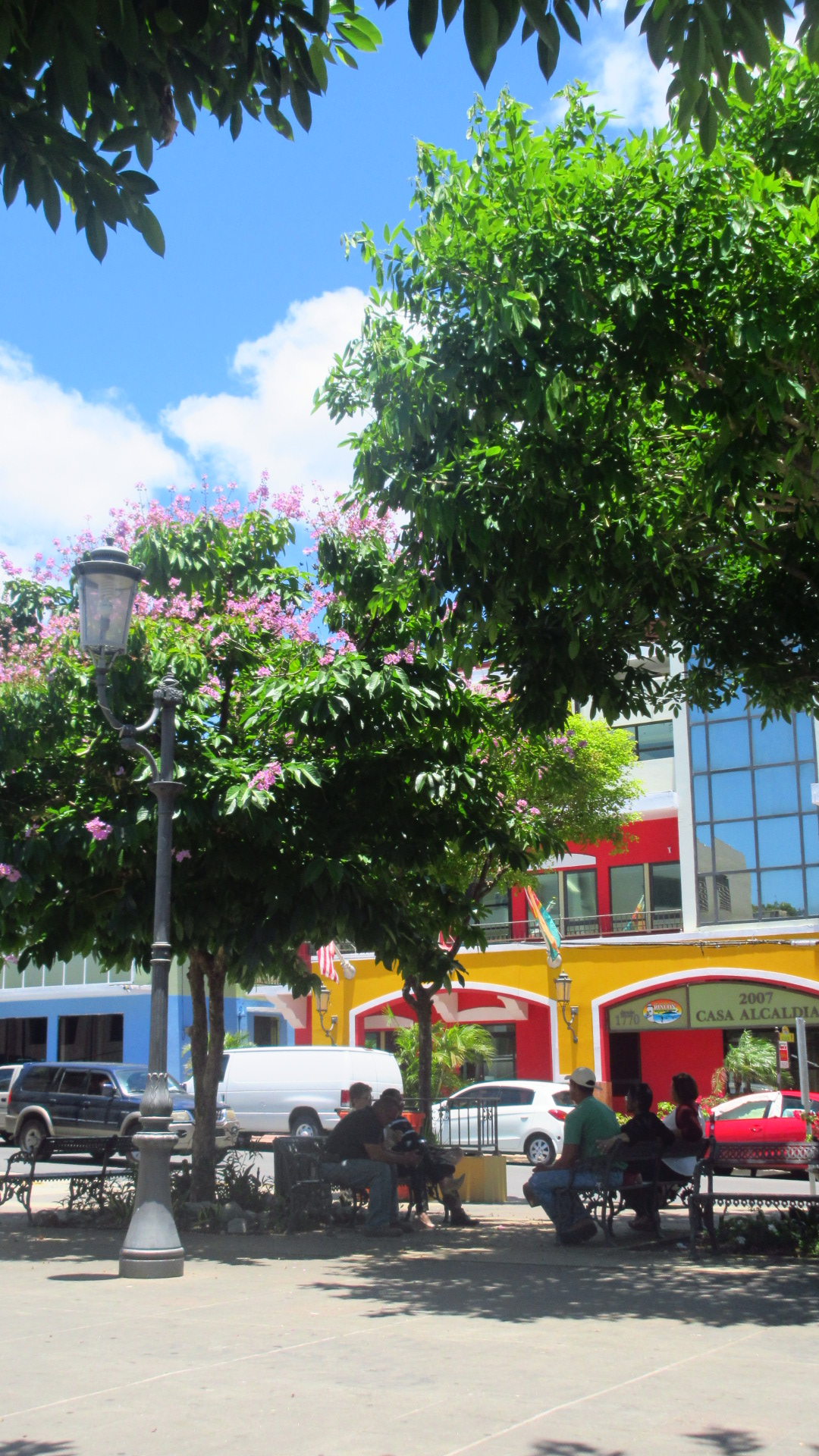 Downtown plaza rincon