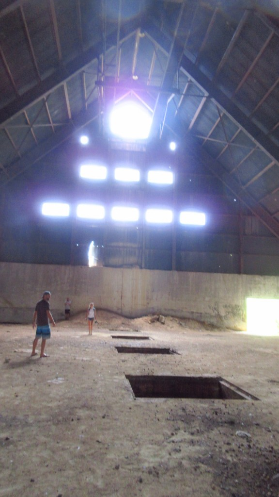 Inside Sugar Mill