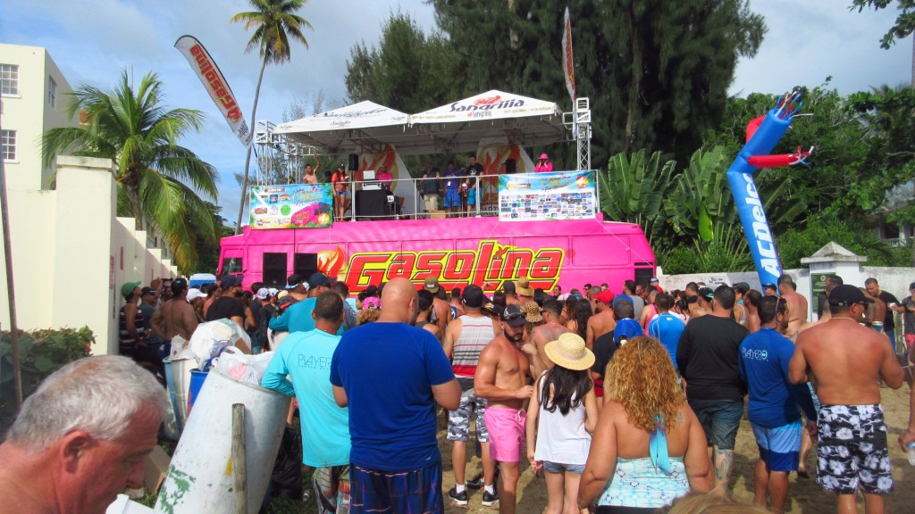 Gasolina stage
